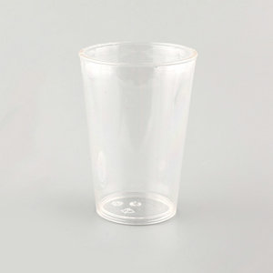QM factory direct sale clear water cup high transparent wine cup promotion
