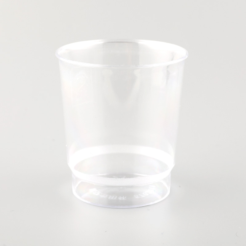 150ml Plastic New Design PS Cup 5oz  Promotional Disposable Plastic Cups