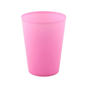 Durable 250ml PP Frosted Cup Plastic Frosting Cup Promotion Cup