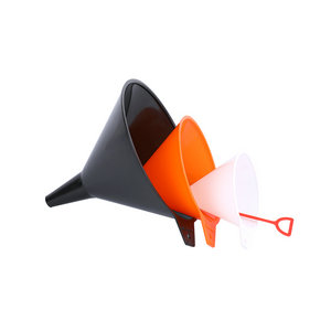 QM Funnel set plastc Hot sale good price 4' 6' 8'  automobile plastic oil funnel set of  3