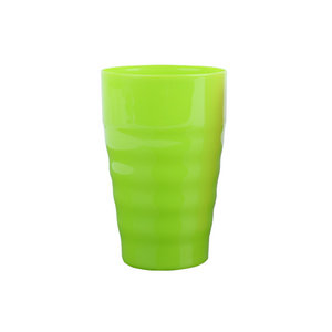 Wholesale plastic 300ml stadium plastic water cup colorful children juice cup