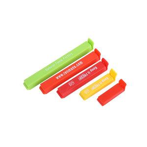 QM Most popular oem LOGO  Plastic Bag closure chip bag clip