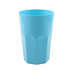 Supplier China drinking tumbler plastic coffee cup 400ml cooling mug for beverage