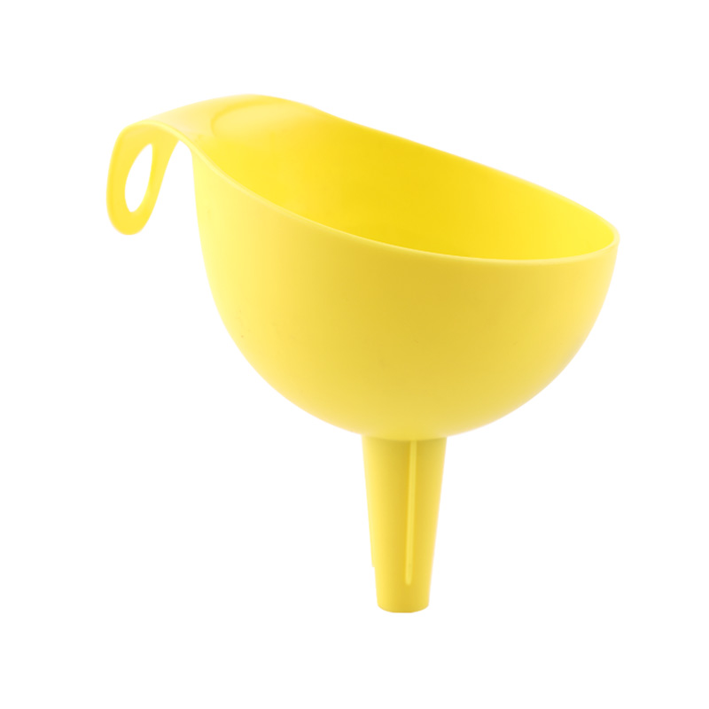 QM Colored 2pcs kitchen plastic funnel