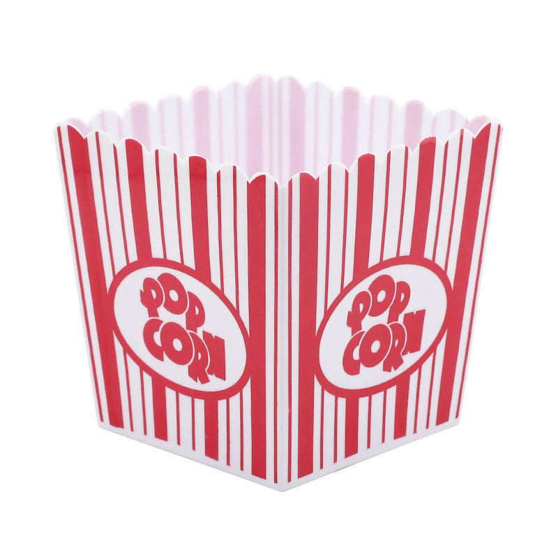 Wholesale 2019 Custom Printed  Melamine Plastic Popcorn Bucket