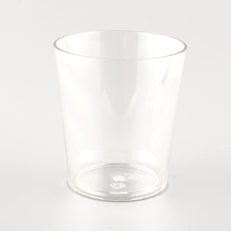 Promotional Cheap 125ml Small Clear Plastic Cup Drinking Cups