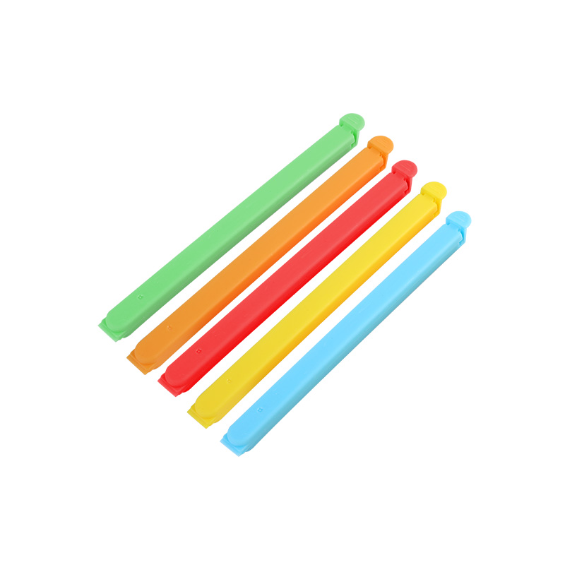QM wholesale custom logo 16cm bag clip plastic cheap Food Package Clip