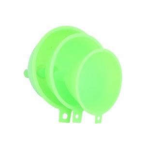 3pcs/set plastic funnel set food grade kitchen utensils set  1