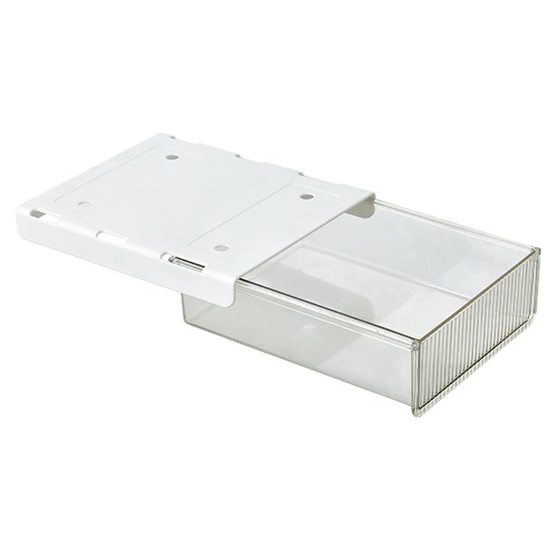 Hidden drawer storage box
